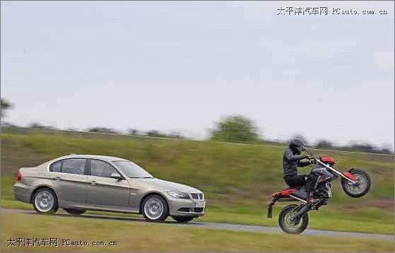 宝马与摩托